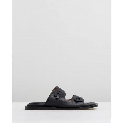 Garfunkel Sandals Black by Joseph