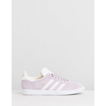 Gazelle - Women's Soft Vision, Orchid Tint & Ecru Tint by Adidas Originals