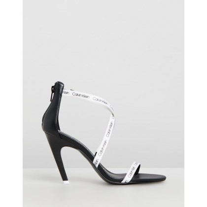 Gennovah Silk White & Black by Calvin Klein
