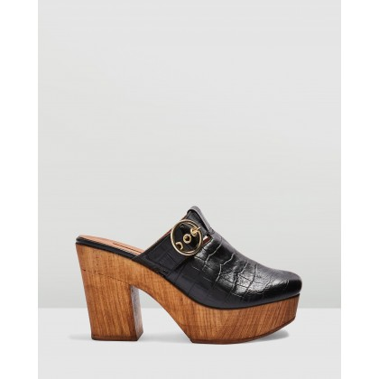 Genoa Mule Clogs Black by Topshop