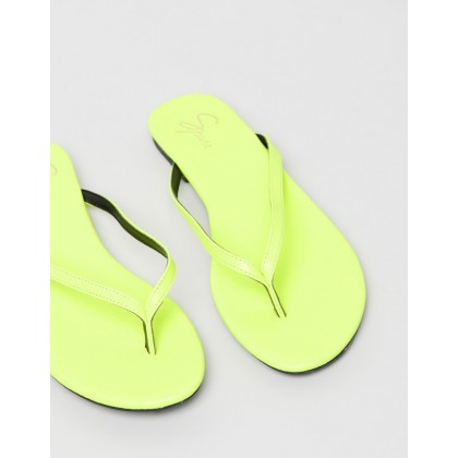 Gigi Sandals Lime Green by Spurr