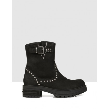 Gila Ankle Boots Black by S By Sempre Di