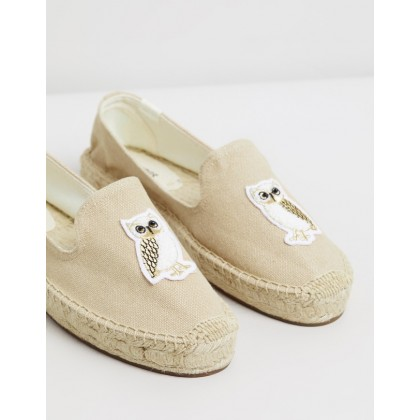 Gilded Owl Smoking Slippers Safari by Soludos