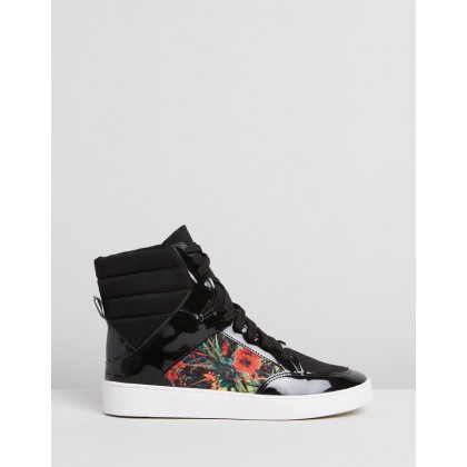 Gilly Sneakers Black by Vizzano