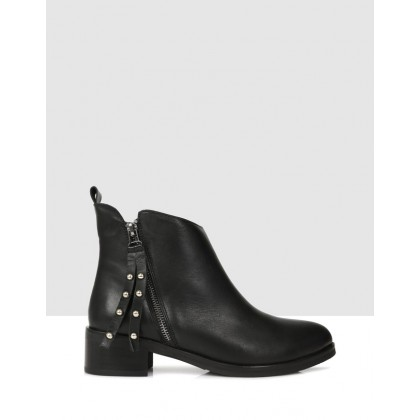Gisela Ankle Boots Black by Sempre Di