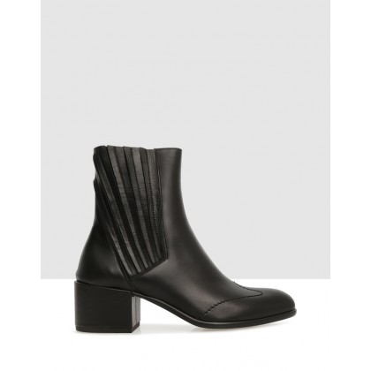 Gladstow Ankle Boots Black by Beau Coops