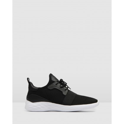 Glide Sneakers Black by Jo Mercer