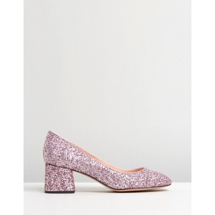 Glitter Celia Pumps Pale Pink Sparkle by J.Crew