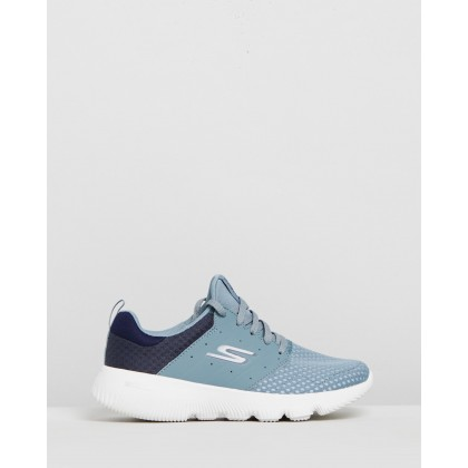 Go Run Focus - Approach - Women's Blue by Skechers
