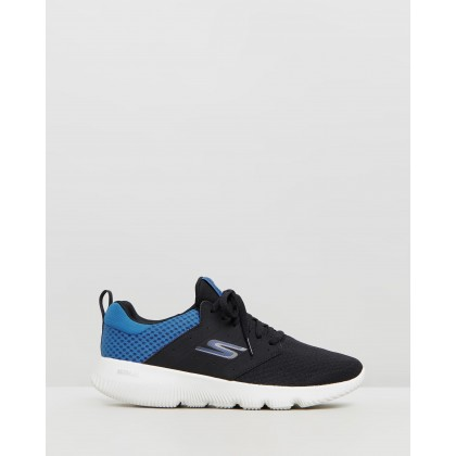 Go Run Focus - Athos - Men's Black & Blue by Skechers