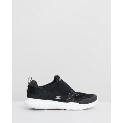 Go Run Mojo - Women's Black & White by Skechers