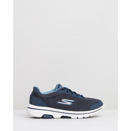 Go Walk 5 - Men's Navy by Skechers