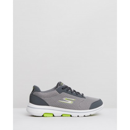 Go Walk 5 - Men's Grey by Skechers