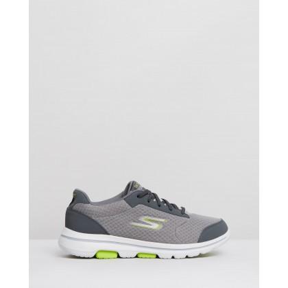 Go Walk 5 - Men's Grey by Skechers
