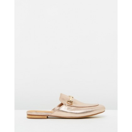 Googi Rose Gold Leather by Mollini