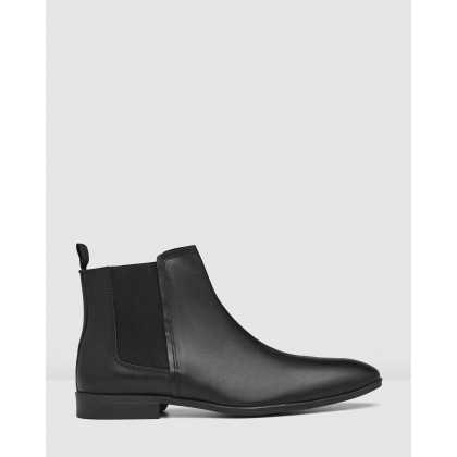 Govern Chelsea Boots Black by Aq By Aquila