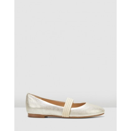 Grace Faye Champagne Metallic by Clarks