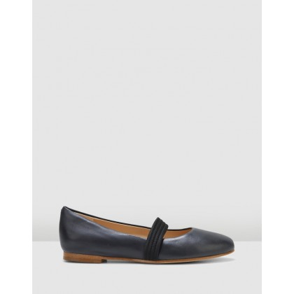 Grace Faye Black Leather by Clarks
