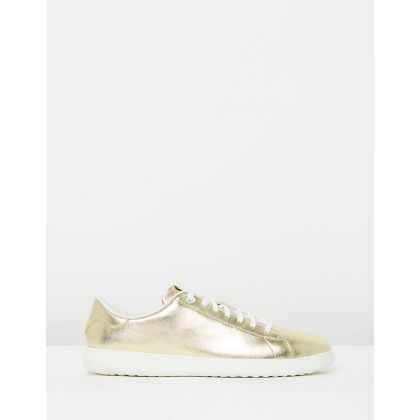 Grandpro Tennis Metallic Soft Gold Metallic by Cole Haan