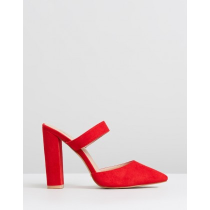 Grappa Red Suede by Billini