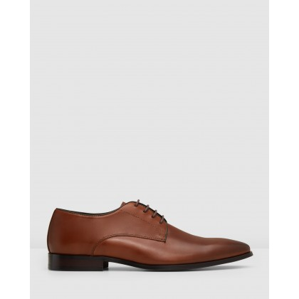 Grayson Lace Ups Tan by Aquila