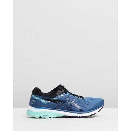 GT-1000 7 D - Women's Grand Shark & Black by Asics