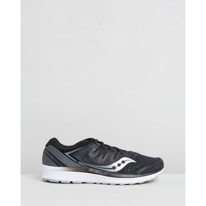 Guide ISO 2 - Men's Black & Grey by Saucony