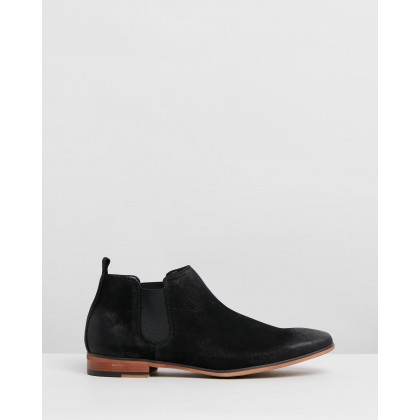 Guy Boots Black by Kenneth Cole
