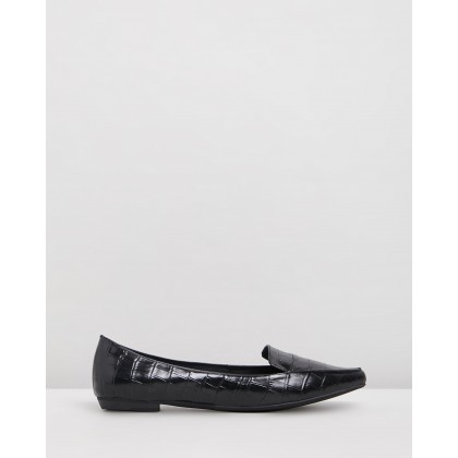 Gyro Black Croc Leather by Mollini