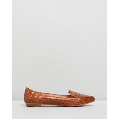 Gyro Tan Croc Leather by Mollini