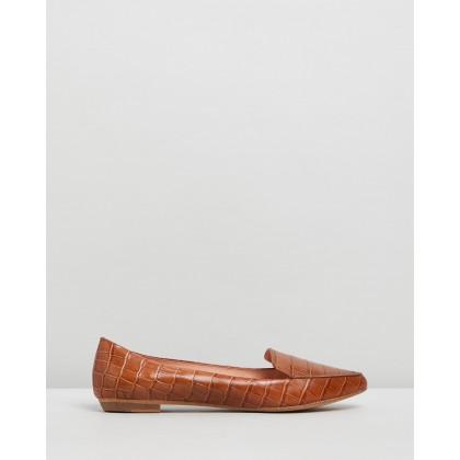 Gyro Tan Croc Leather by Mollini
