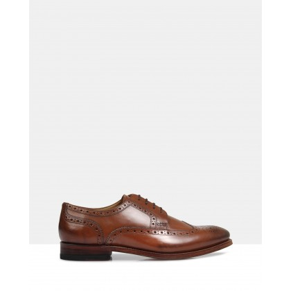 Halifax Good Year Welted Brogues Brown by Brando