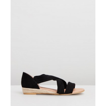 Hallie Black Suede by Office