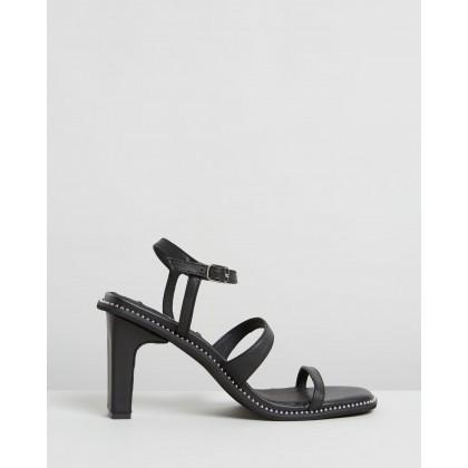 Halo Heels Black by Caverley
