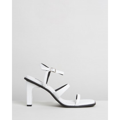 Halo Heels White by Caverley
