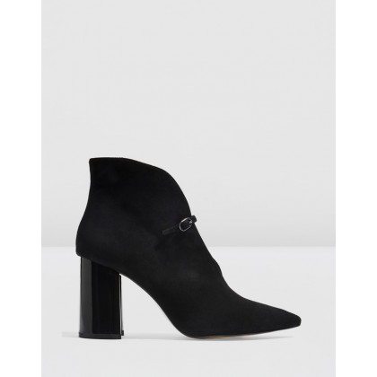 Halo Shoeboots Black by Topshop