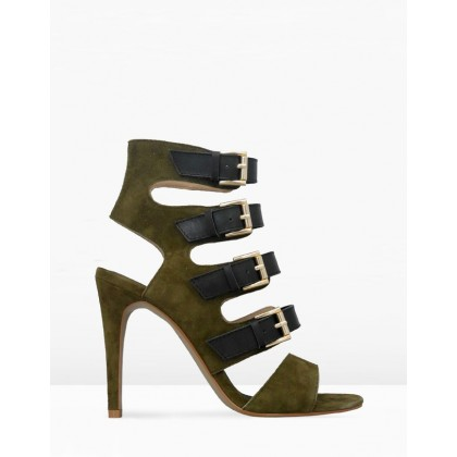 Hanna Khaki by Iris Footwear