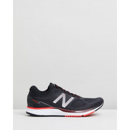 Hanzo U - Men's Black & Red by New Balance