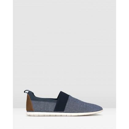 Happy Slip On Lifestyle Shoes Navy by Zu