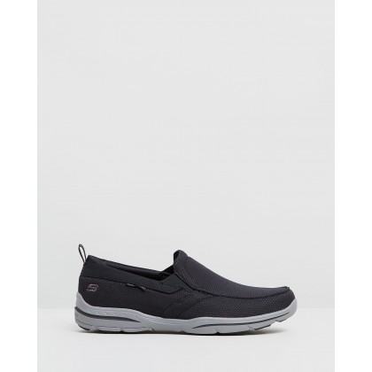Harper - Walton - Men's Black by Skechers