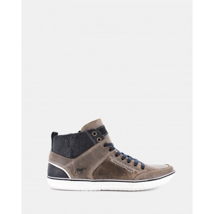Hartwood Hi- Top Shoes Grey by Wild Rhino