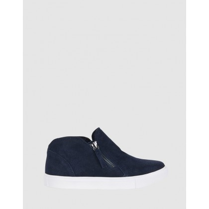 Harvey Navy Suede by Easy Steps