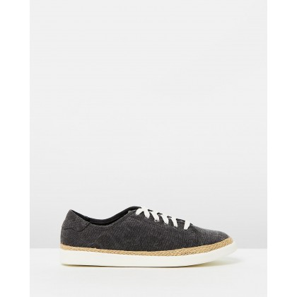 Hattie Sneakers Black by Vionic