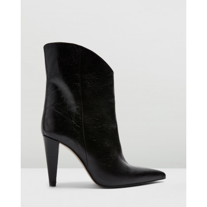 Havana Boots Black by Topshop