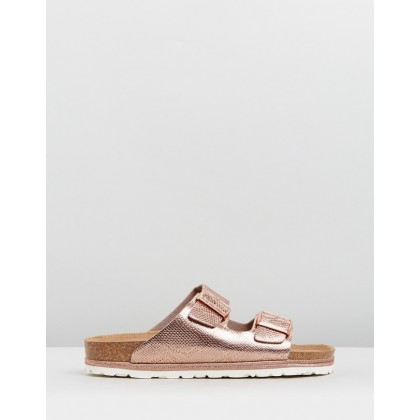 Hawaii Croc Sandalia Nude by Walnut Melbourne