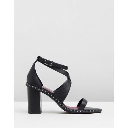 Henrietta Heels Black by Sol Sana