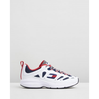 Heritage Retro Sneakers Red, White & Blue by Tommy Jeans