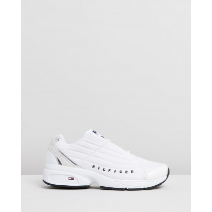 Heritage TJ Sneakers White by Tommy Jeans