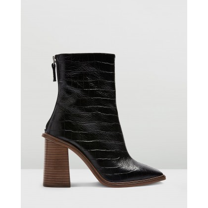 Hertford Boots Black by Topshop