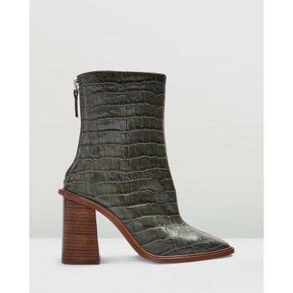 Hertford Boots Khaki by Topshop